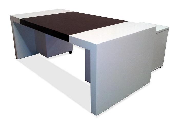שולחן צבע לבן בהספקה מיידית!